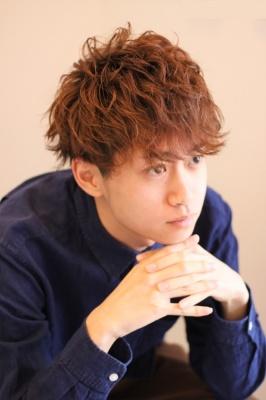 Noisyle北堀江店 メンズパーマスタイル5