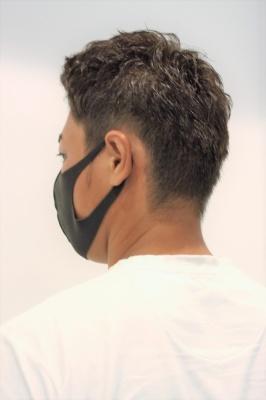マスクをつけてもかっこいいスタイル